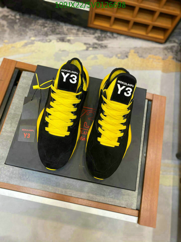 Y-3 men's and women's shoes