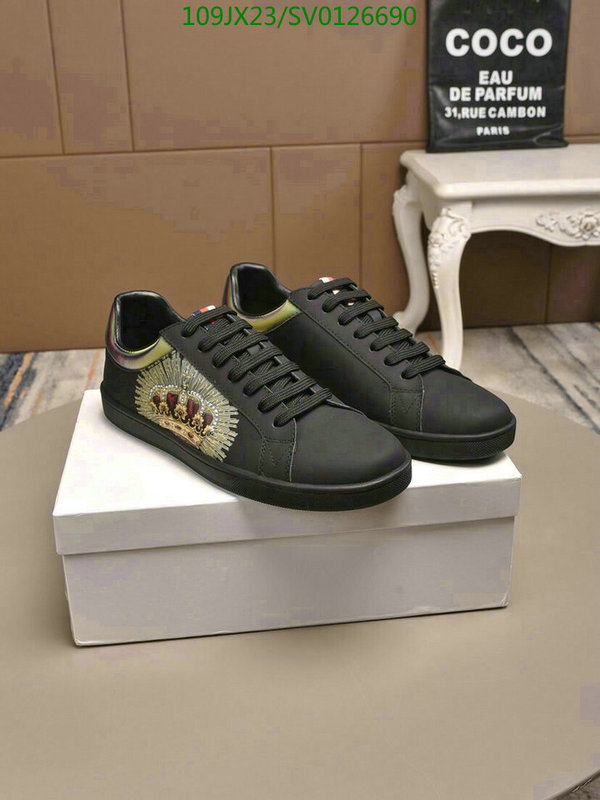 Dolce & Gabbana men's shoes D&G