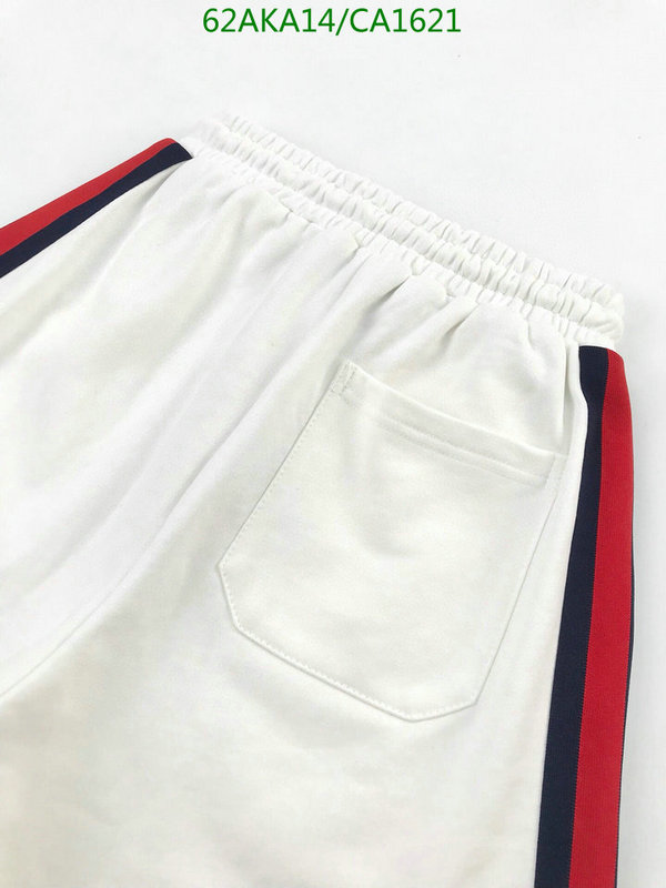 Gucci summer new sports casual shorts men's and women's clothing