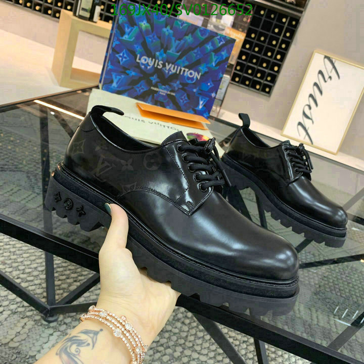 Louis Vuitton men's shoes LV