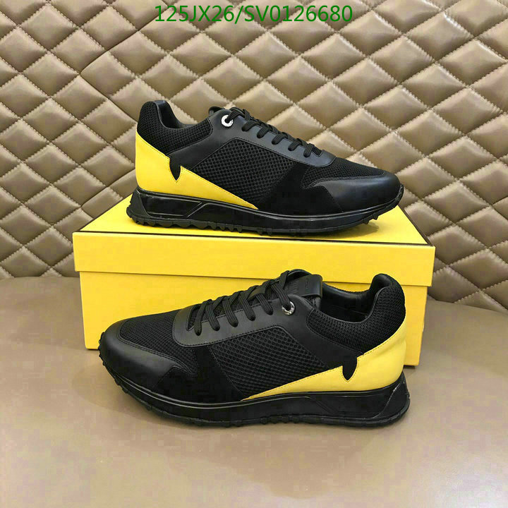 Fendi men's shoes