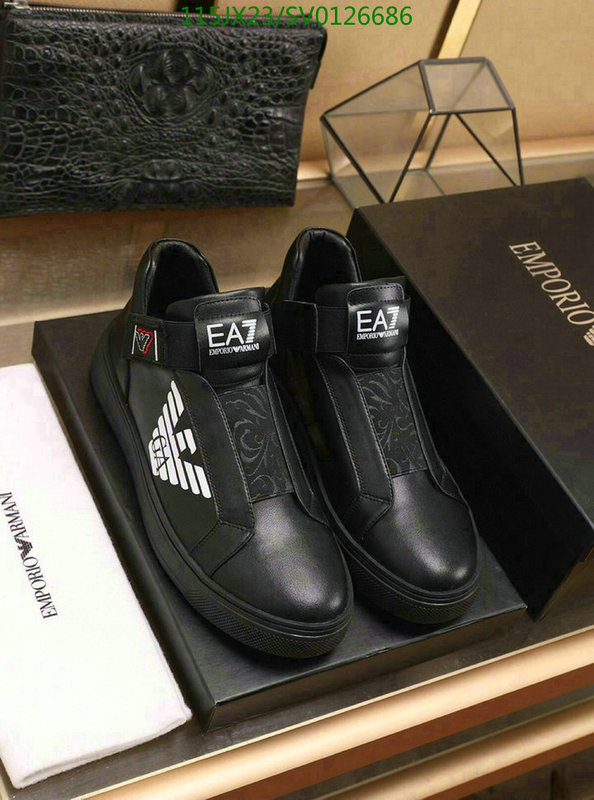 Armani men's shoes