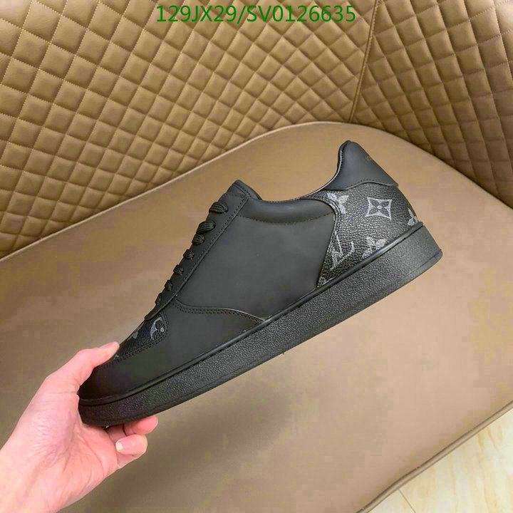 Louis Vuitton 2021 youth casual shoes fashion simple sports shoes luxury brand men's shoes LV shoes