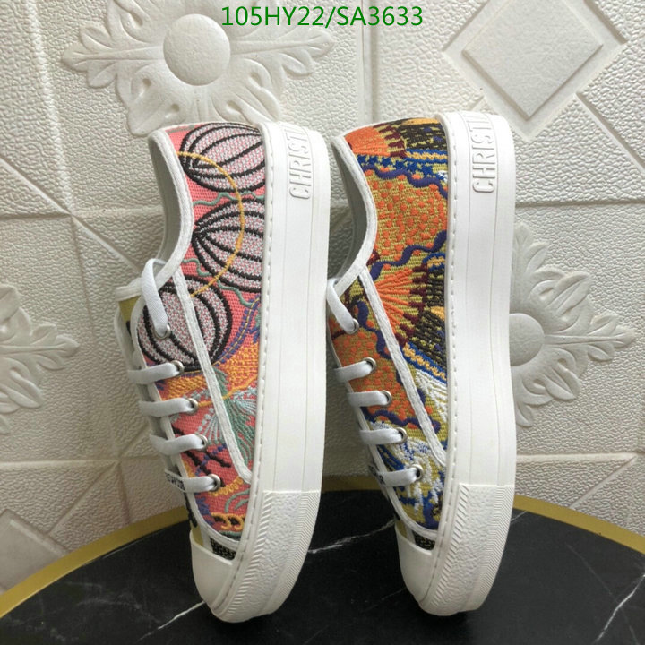 Dior multicolor ladies canvas shoes new fashion lace-up sneakers outdoor casual shoes women's shoes