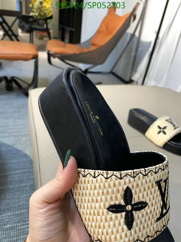 Louis Vuitton new ladies slippers indoor and outdoor slippers 2021 hot-selling thick-soled comfortable slippers LV women's shoes