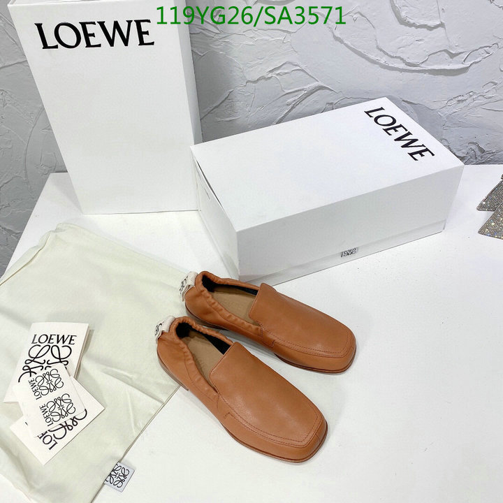 Loewe new style deep-mouth shoes casual shoes comfortable flat shoes women's shoes