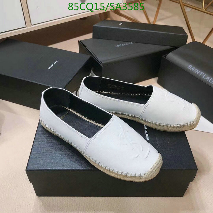 Yves Saint Laurent new fisherman shoes fashion deep-mouth shoes casual shoes lazy shoes YSL women's shoes
