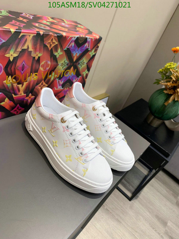 Louis Vuitton 2021 spring and summer new white shoes men's casual shoes and sports shoes LV men's shoes
