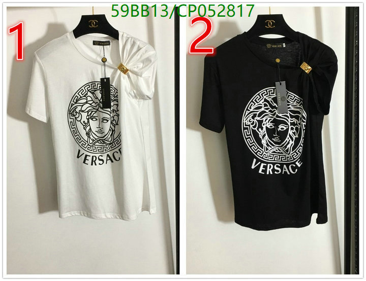 Versace fashion classic loose shirt top women's daily pure cotton women's casual breathable T-shirt short-sleeved women's clothing