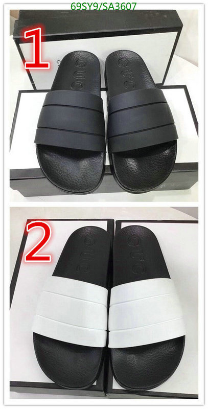 Gucci men's and women's shoes home slippers fashion simple slippers comfortable loose slippers