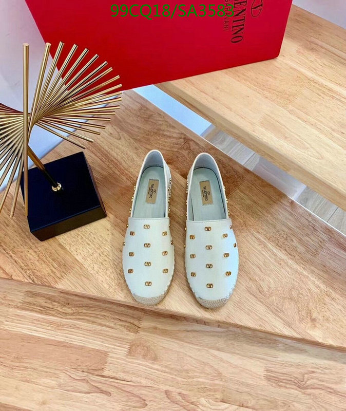 Valentino ladies casual flat shoes leather production luxury brand casual shoes comfortable and fashionable straw fisherman shoes women's shoes