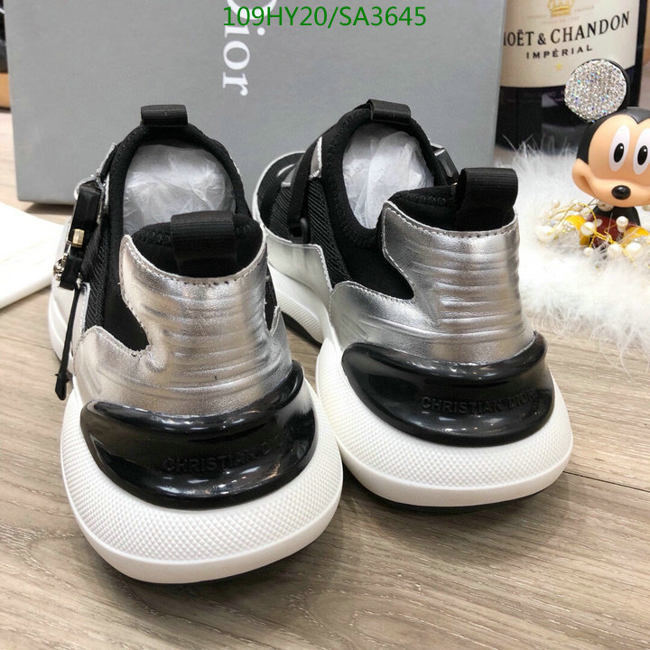 Dior 2021 hot sale lace-up casual shoes fashion sports shoes outdoor hiking shoes men's and women's shoes