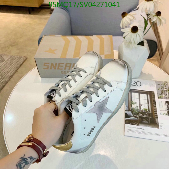 Golden Goose classic simple white shoes lace up casual shoes outdoor sports shoes women's shoes