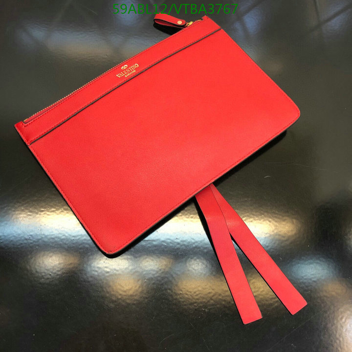 Valentino new solid color clutch mini coin purse fashion wallet women's bags 9873