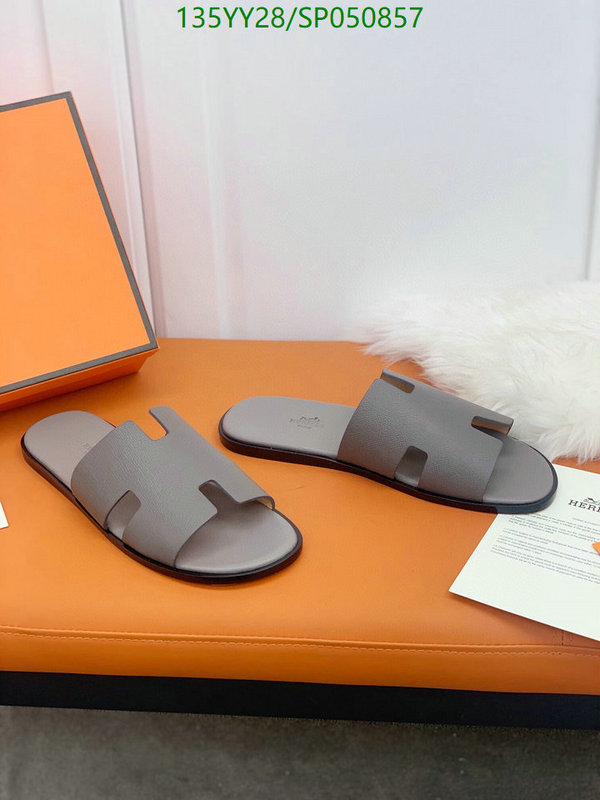Hermes 2021 new H-shaped slippers men's fashion outer wear flat slippers summer men's home shoes men's shoes