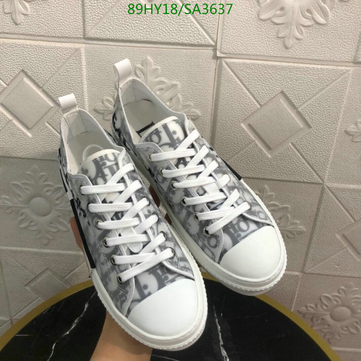 Dior 2021 latest fashion sneakers classic letter printing casual shoes men's and women's shoes