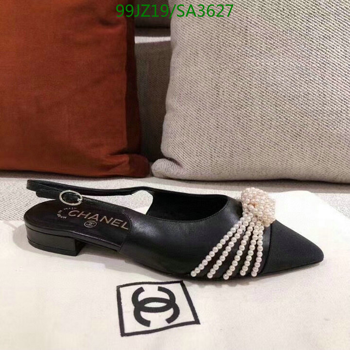 CHANEL fashion single shoes 2021 spring and summer latest pointed shoes casual sandals women's shoes