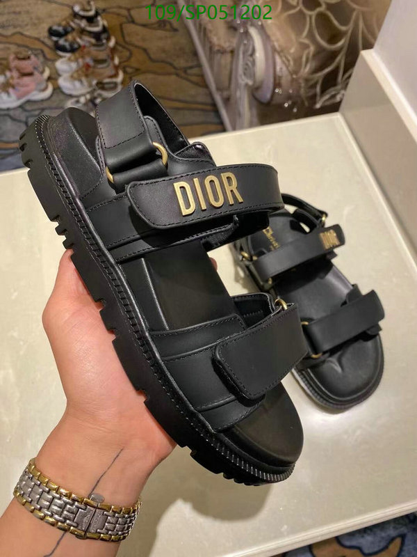 Dior spring and summer thick-soled comfortable sandals 2021 new trend women's shoes fashion casual sandals