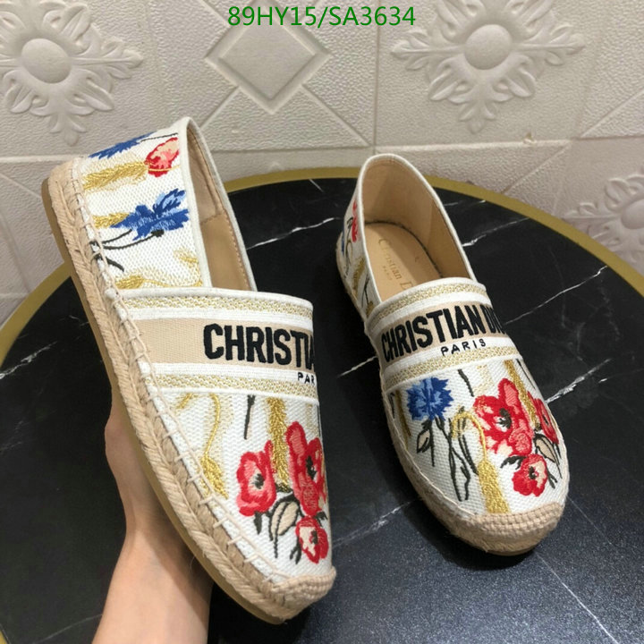 Dior 2021 spring and summer new fisherman shoes classic fashion casual shoes deep-mouth shoes women's shoes