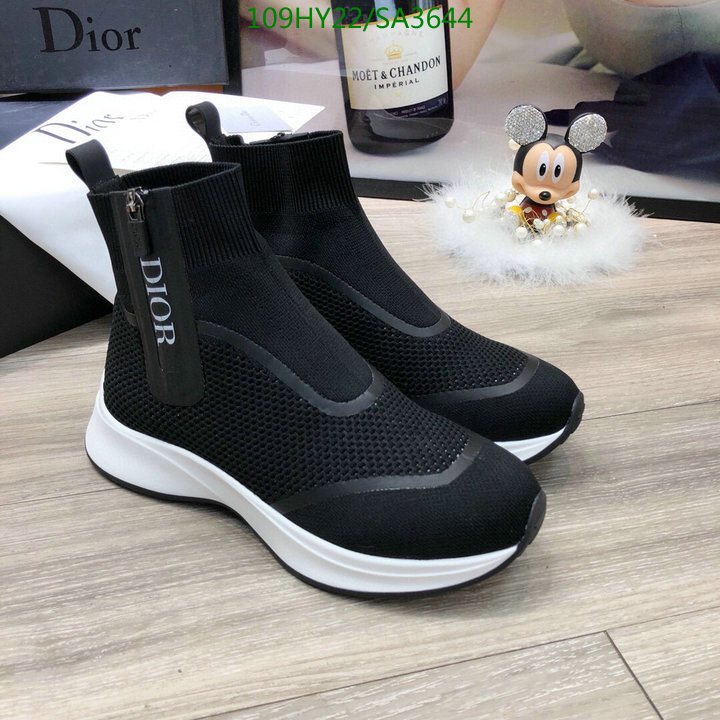 Dior fashion high-top shoes lightweight and comfortable outdoor sports shoes casual shoes women's and men's shoes