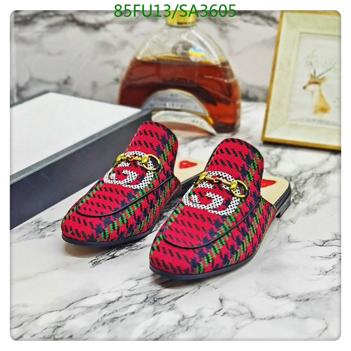 Gucci summer new style Baotou slippers outer wear flat shoes casual slippers men's and women's shoes