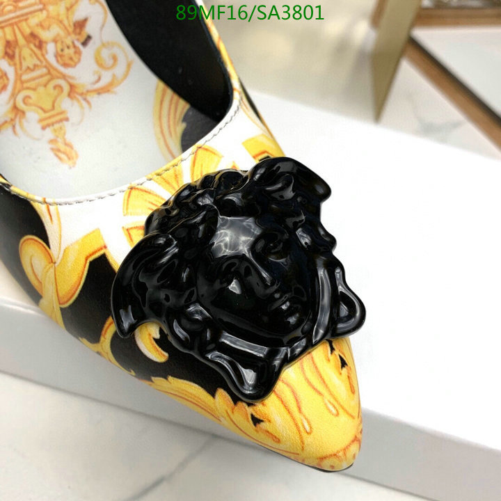 Versace new classic print ladies high heels fashion ladies banquet office shoes women's shoes