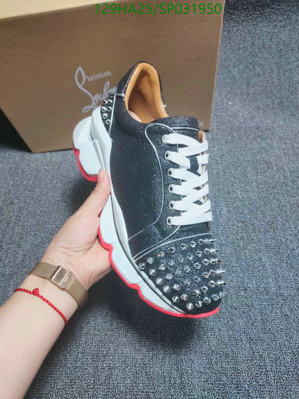 Christian Louboutin sports shoes Men's and women's thick-soled casual shoes couple shoes CL shoes