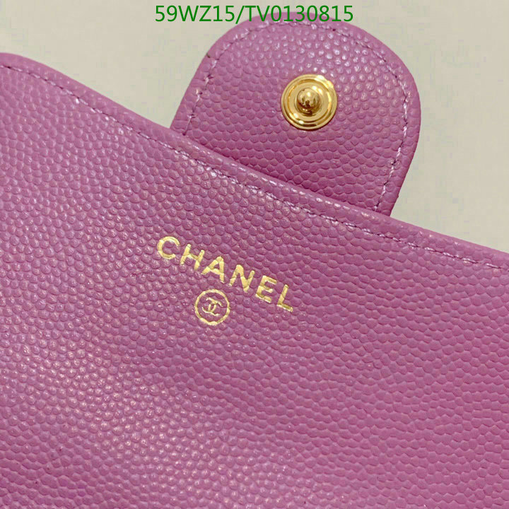 CHANEL New Multicolor Leather Wallet Luxury Women's Wallet Fashion Buckle Short Wallet 31504
