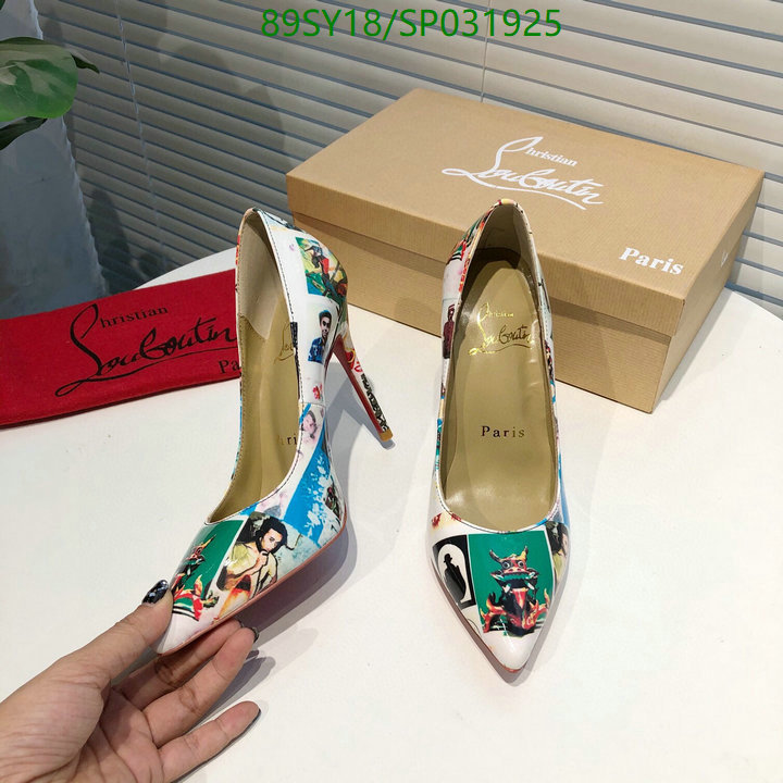 Christian Louboutin pointed shallow mouth sexy women's shoes fashion ladies high heels shoes