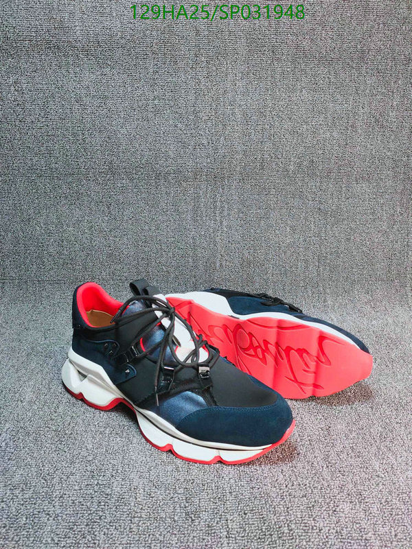 Christian Louboutin casual couple shoes men's and women's shoes trend running shoes CL shoes