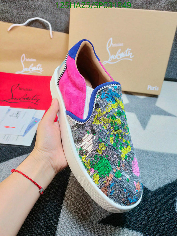 Christian Louboutin Couple Shoes Men's and Women's Sports Shoes CL Casual Shoes