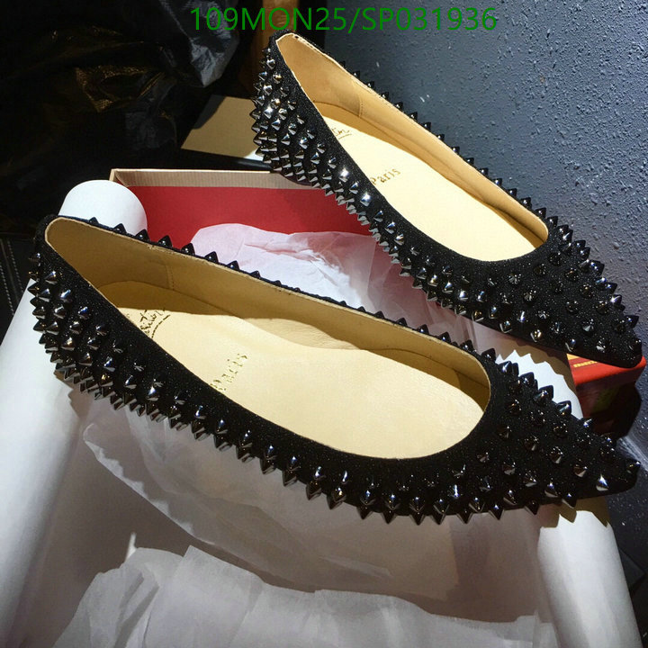 Christian Louboutin dress pointed toe shoes black single shoes CL women's shoes