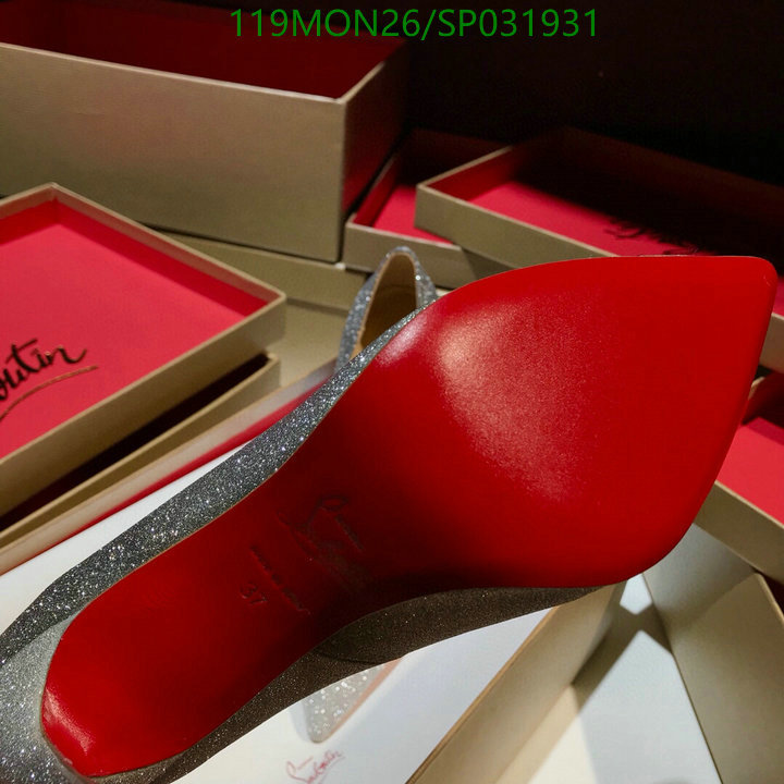 Christian Louboutin Autumn High Heels Leopard Print Shoes Women's Classic Stiletto Pointed Shoes