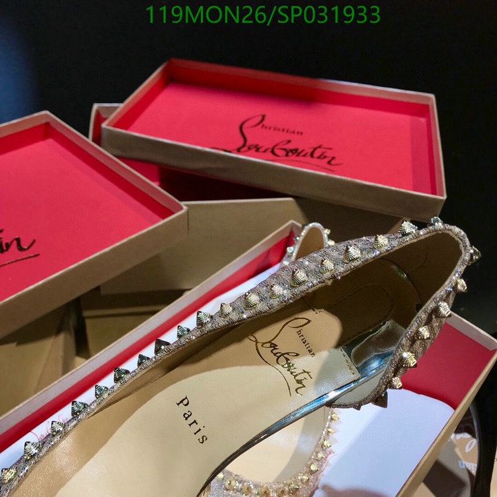 Christian Louboutin office ladies high heels party ladies stiletto heels CL casual women's shoes
