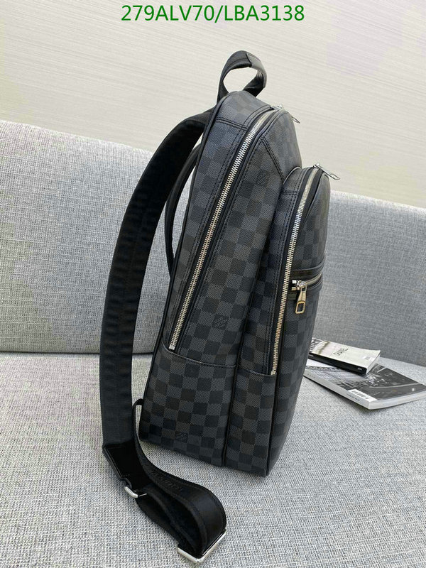Louis Vuitton Classic Men's Backpack LV Men's Bag