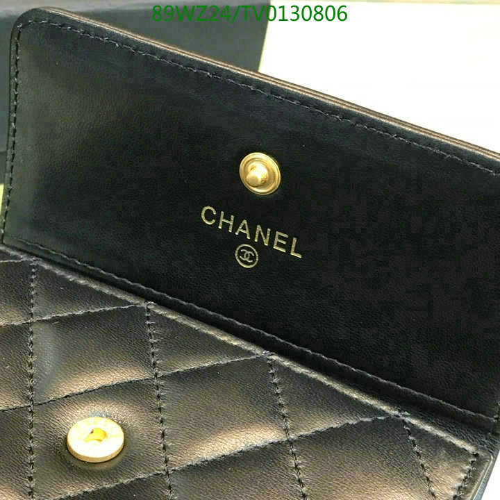 CHANEL mini wallet female fashion coin purse student simple wallet 80734